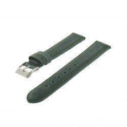 Bracelet montre Vert de 14-18 et 20mm Cuir de veau Aniline Golf EcoCuir® Artisanal