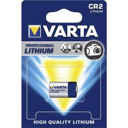 Pile Photo CR2 Lithium CR17355 3 Volts 920 mAh Varta®