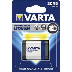 Pile photo 2CR5 Lithium 245 6 Volts Varta®