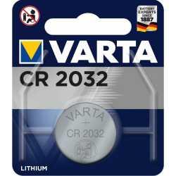 Pile bouton CR2032 Lithium 3V Varta