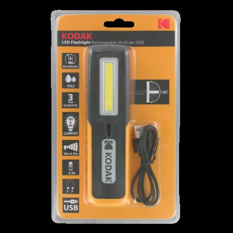 Lampe Rechargeable Magnétique LED MULTIUSE 150R Kodak