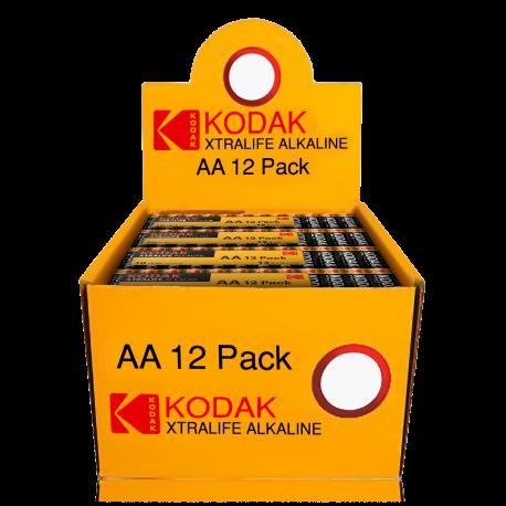 4 Piles LR03 AAA Migon Alcaline Xtralife 1.5 Volts Kodak®